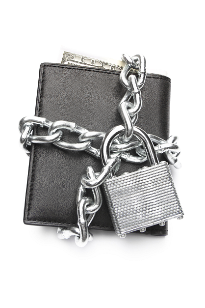Wallet with Lock